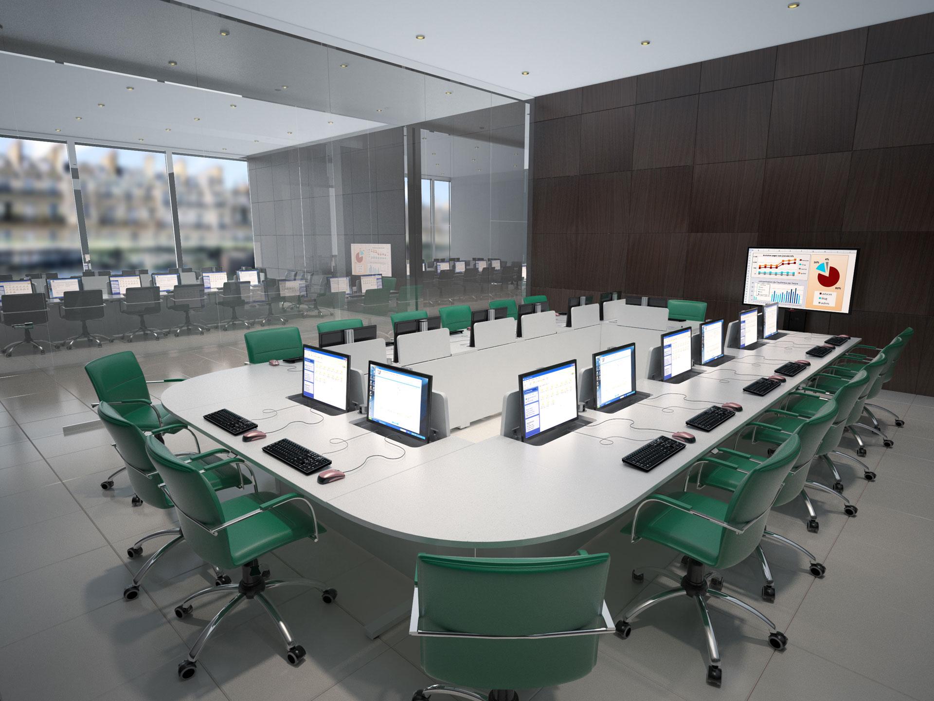 Mobilier pour salles de formation et de réunion