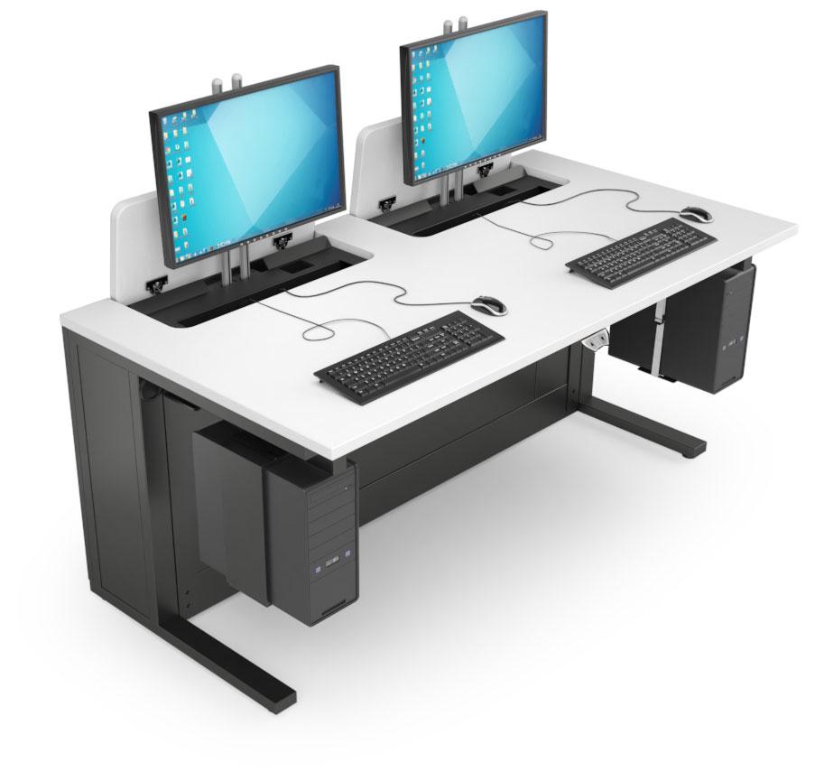 Mobilier informatique pour salles de formation
