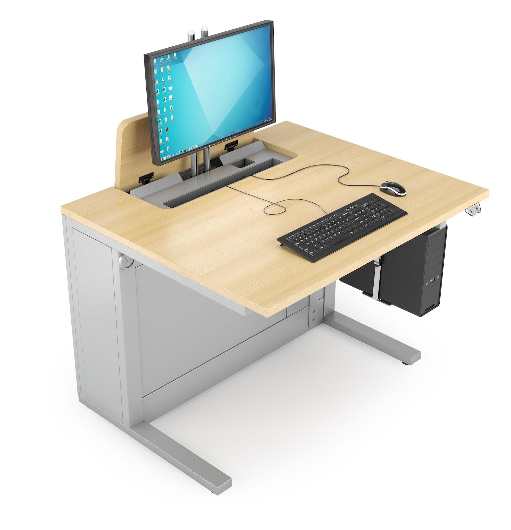 Mobilier de formation informatique