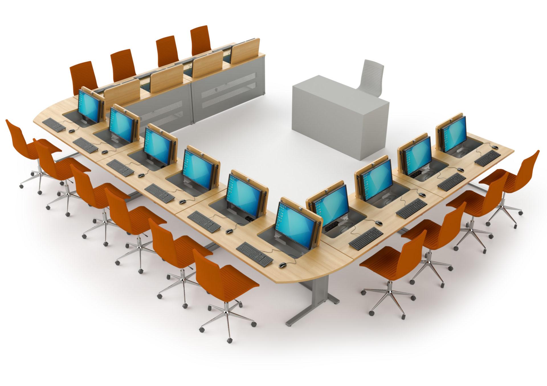 Mobilier pour salles de formation