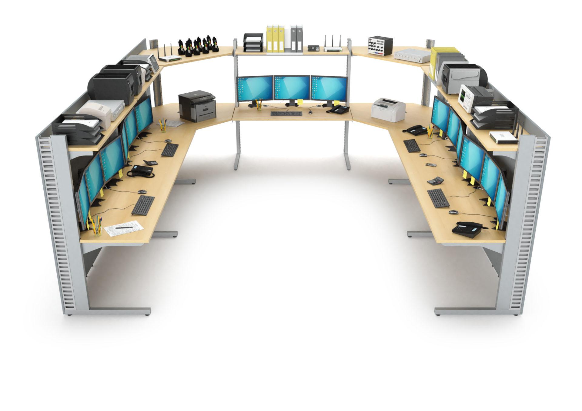 Aménagement d'une salle serveur en U
