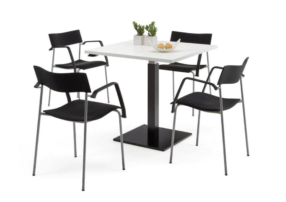 Table équipé d'une colonne mécanique UPLIFT Série 1