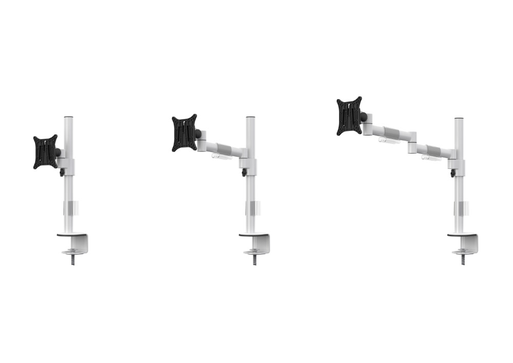 Bras support écran mécaniques pour 1 écran