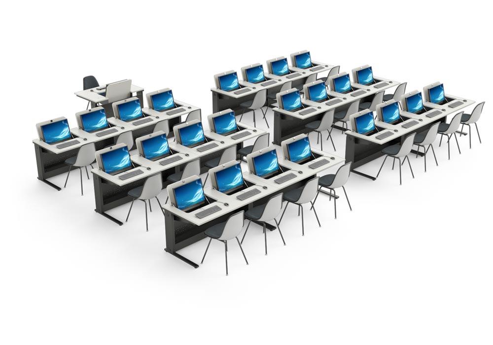 Mobilier informatique pour l'aménagement des salles de cours