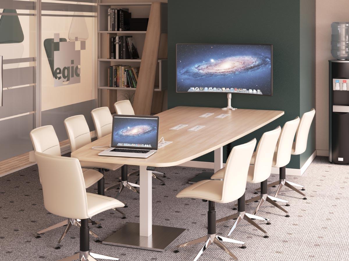 table de visioconférence 9 positions
