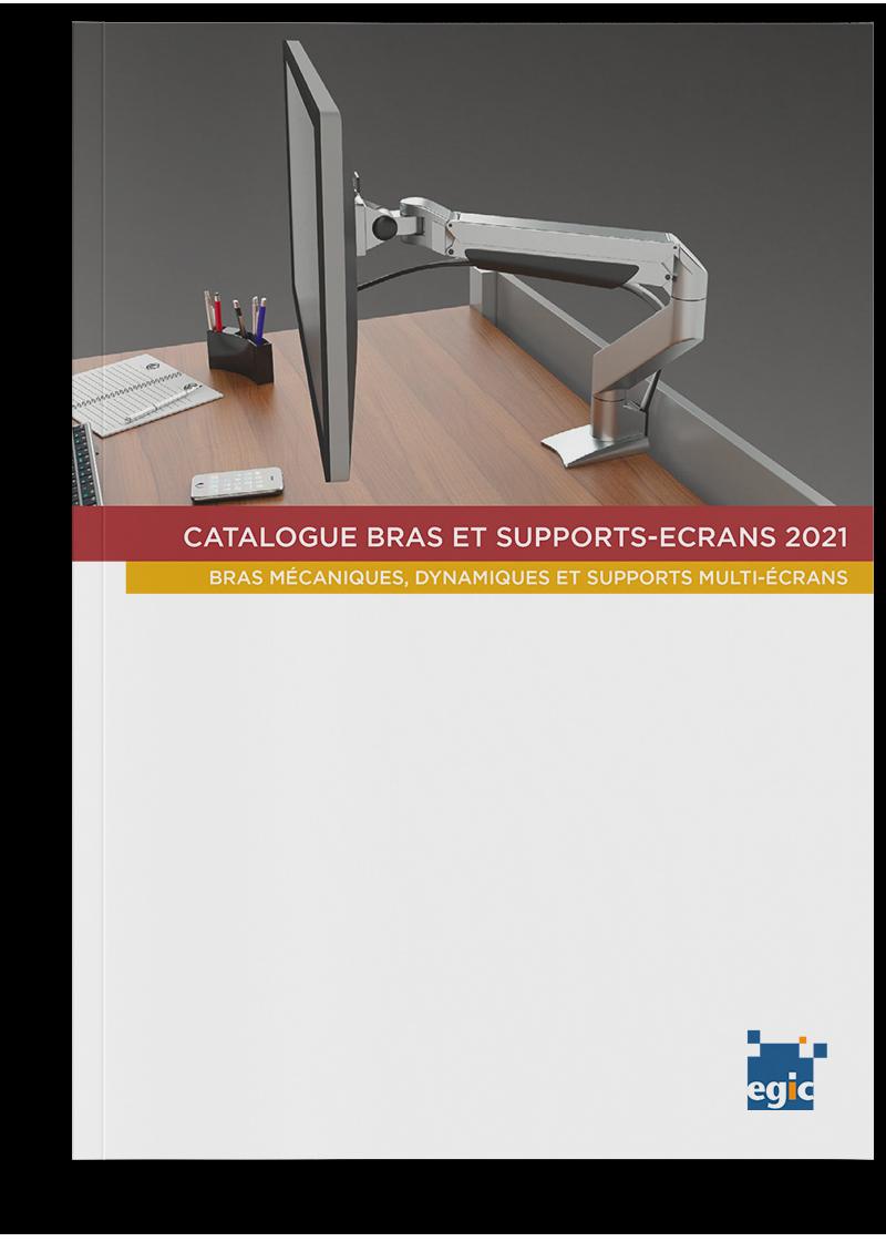 Catalogue des bras et portiques supports-écrans