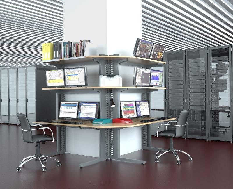 Mobilier informatique pour salles techniques