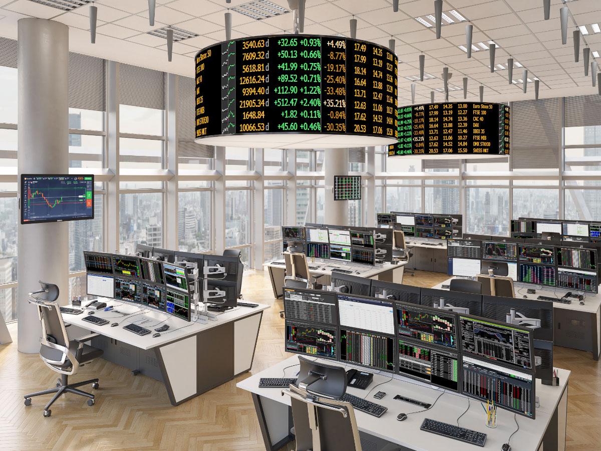salles de marchés équipé de KVM
