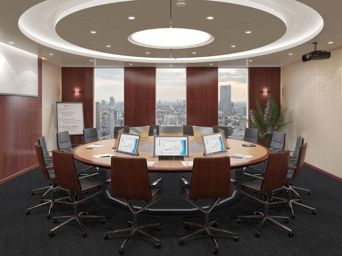 Intégration audiovisuelle d'une salle de réunion