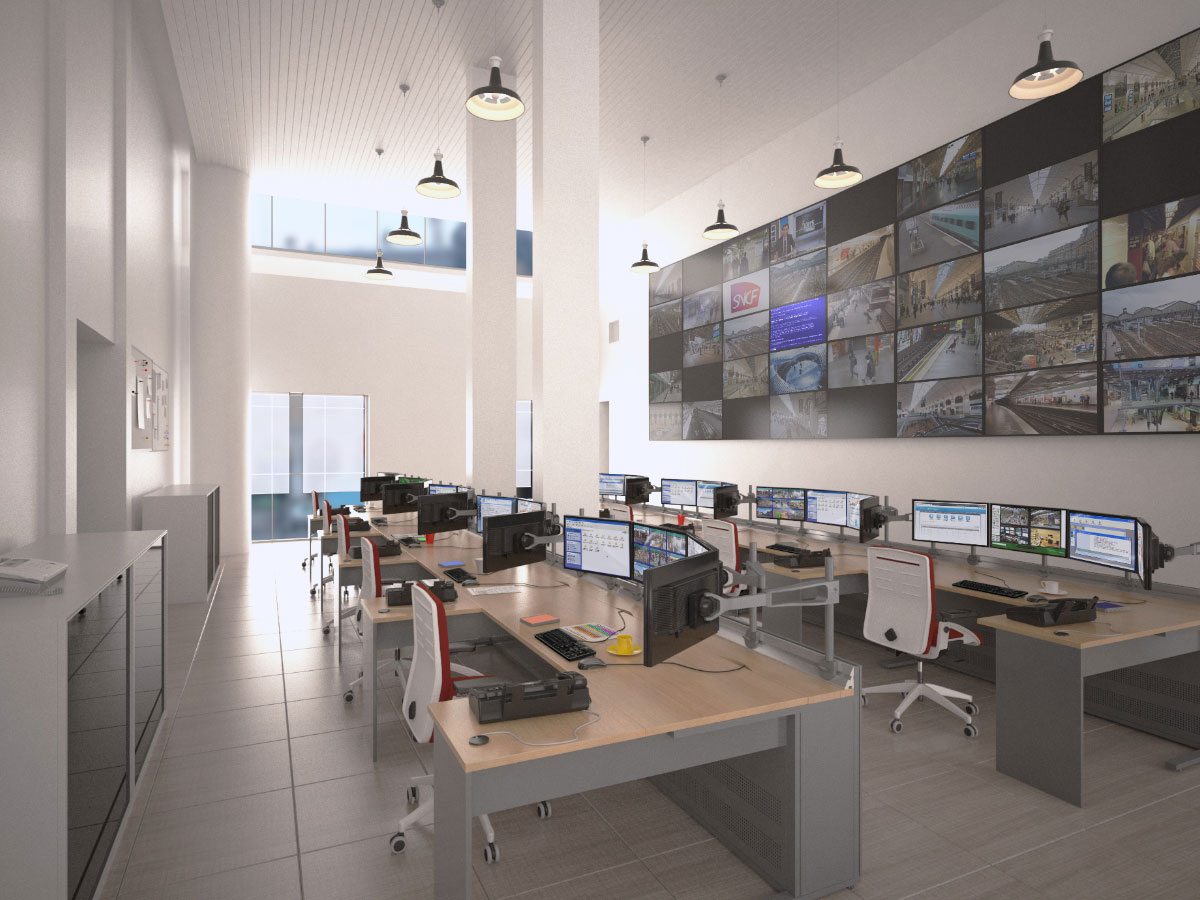 KVM et mur d'écrans