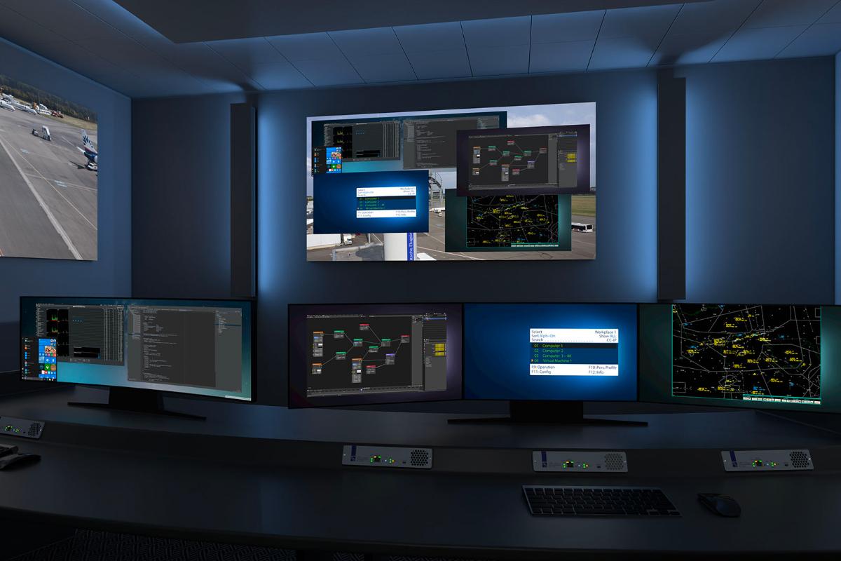 KVM et vidéo pour salles de contrôle