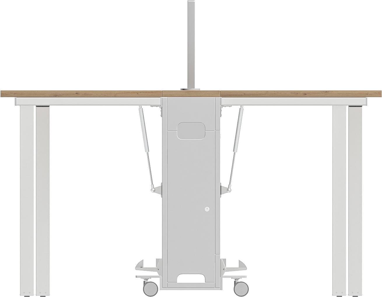 Postes de réunion mobiles aux dimensions ergonomiques