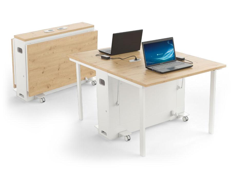 mobilier informatique mobile pour espaces collaboratifs