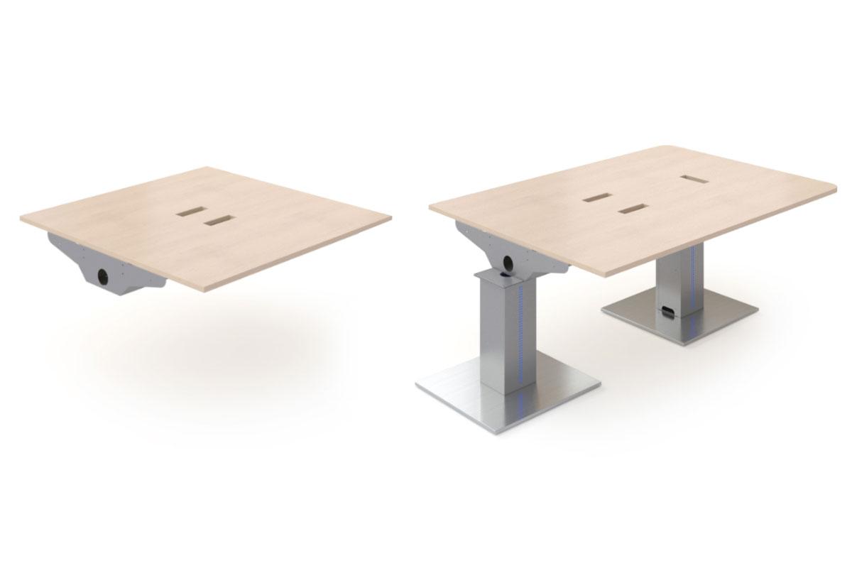 Eléments modulable d'une table de réunion EGIC'MEETING
