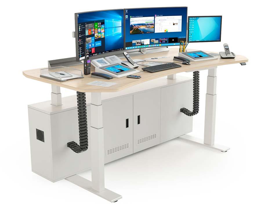 Mobilier informatique pour la supervision