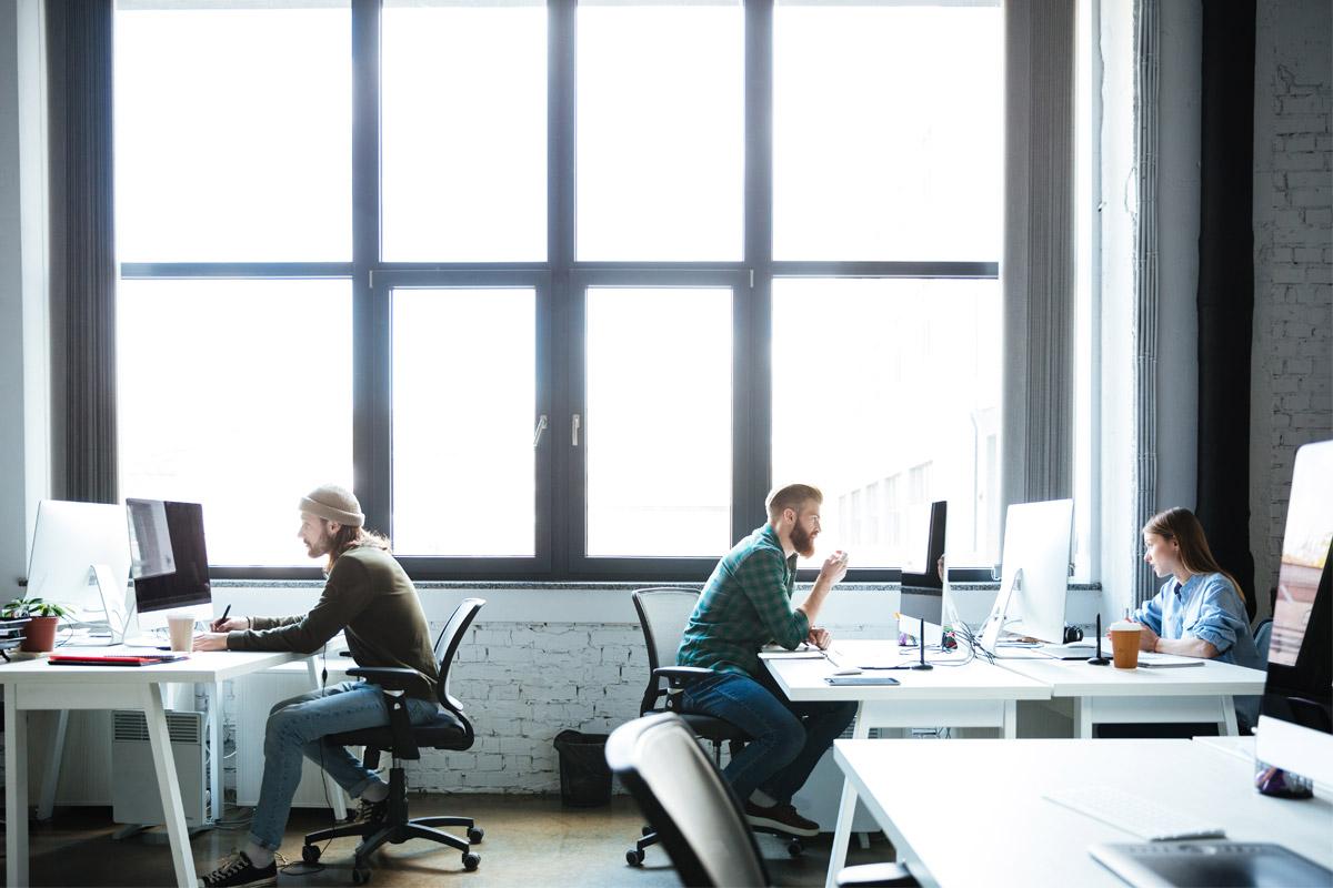 Travail hybride, télétravail et flex office